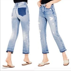 AYR | The Styx Wolfpack Cropped High Rise Jeans 29
